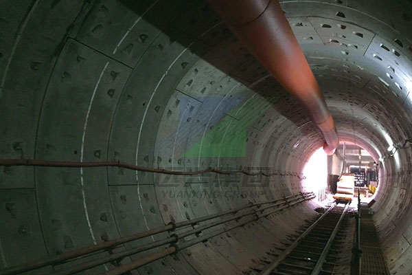 長沙軌道交通盾構管片預留滑槽工程